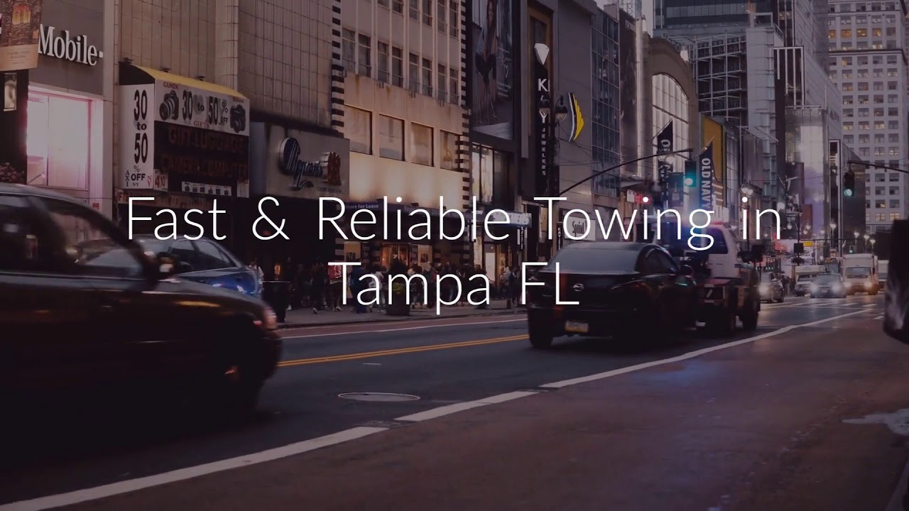 24/7 Tow Truck - Towing Service in Tampa, FL