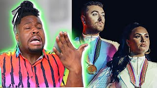 Download Lagu SAM SMITH DEMI LOVATO IM READY REACTION MP3