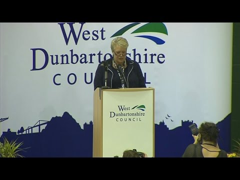 West Dunbartonshire breaks into song after Yes victory