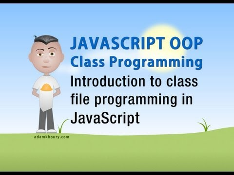 JavaScript Class OOP Tutorial Intro to Object Oriented Progr