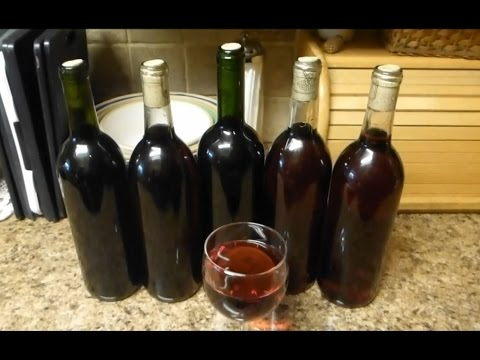 Make a Gallon of Wine from Grapes