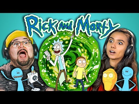 Thumbnail: ADULTS REACT TO RICK AND MORTY
