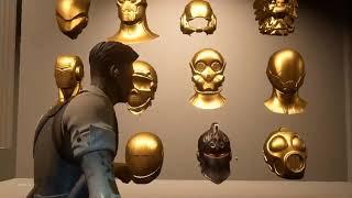 Fortnite Agent Midas Room Animation   Golden Black Knight Helmet!