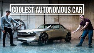 homepage tile video photo for Exploring The World's Coolest Autonomous Car