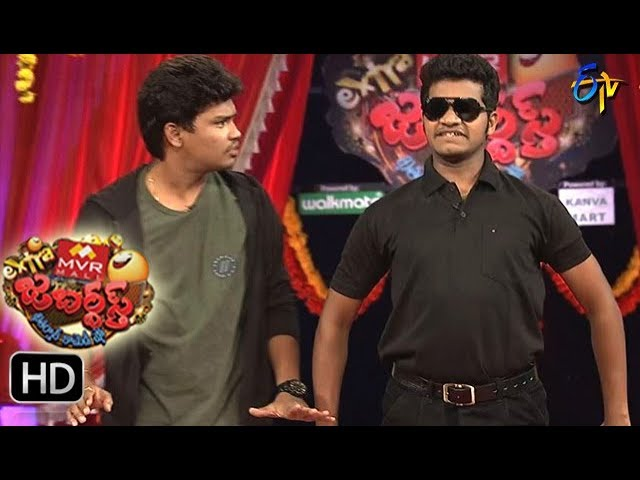 Avinash Karthik Performance | Extra Jabardsth | 25th  August 2017| ETV Telugu