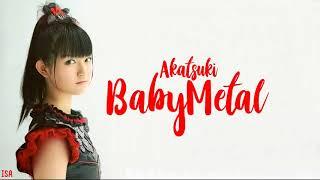 BABYMETAL Akatsuki Legendado PT BR Lyrics ROM ENG PT BR