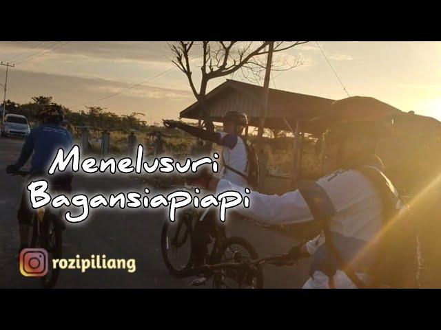 Menelusuri Kota Bagansiapiapi dengan Bersepeda Santai Ke Desa Parit Aman (Kampung Merah Putih)