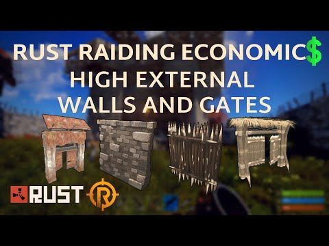 Rust Raiding Economics