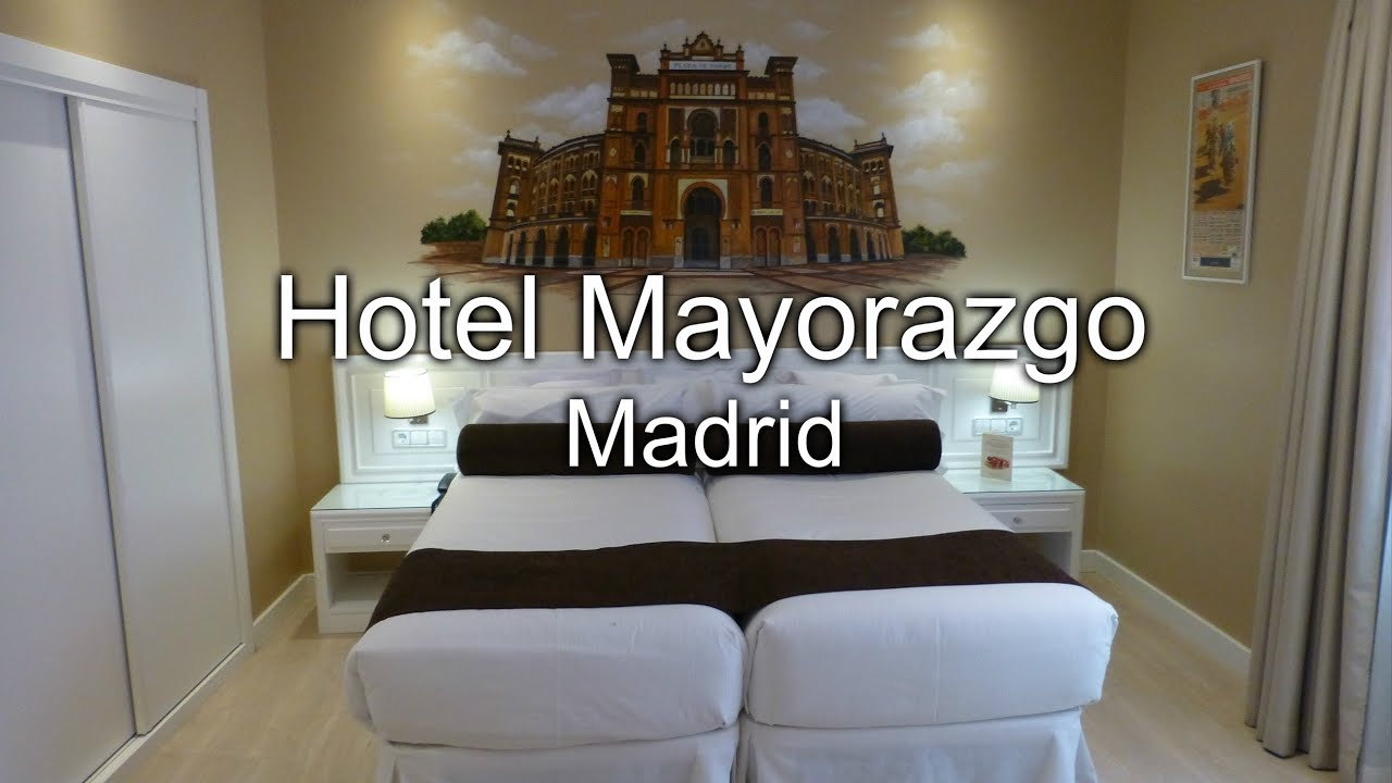 Hotel mayorazgo de madrid mi habitaci n youtube for Hotel habitacion cuadruple madrid