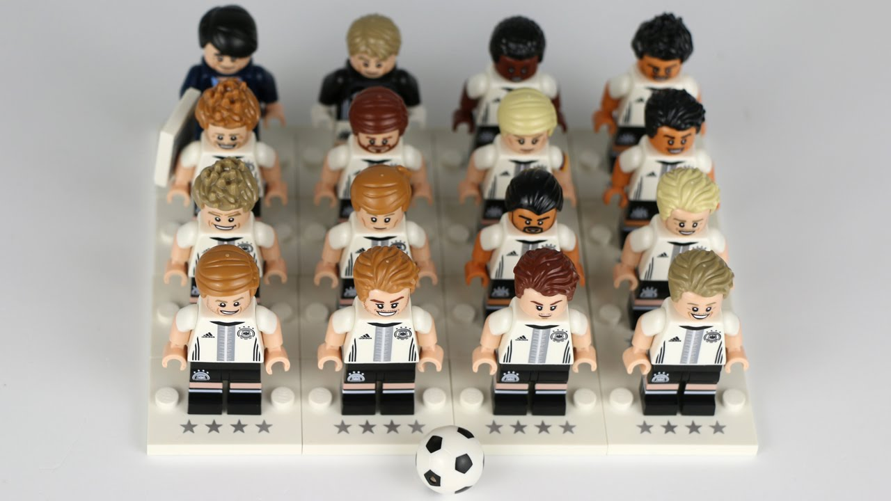 Lego Dfb Die Mannschaft Review Of All 16 Minifigures 71014