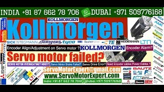 Kollmorgen Repair CNC servo drive failure causes servo motor Encoder Resolver encoder problems