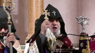 His Holiness Garegin II, celebrates 17th anniversary of his enthronement with NY Armenian community