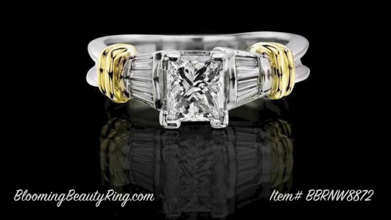 Princess Cut Diamond Engagement Rings  Carat