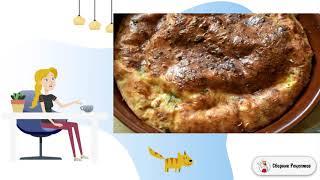 Творожная запеканка с зеленью и сыром Рецепты на стол