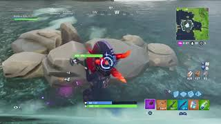"Fortnite Battle Royale // New Skin ""Dark Bomber"" // New Pickaxe ""Thunder Crash"" // 11 Kill Gameplay"