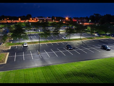 Outdoor Parking - Lighting design by using Dialux evo