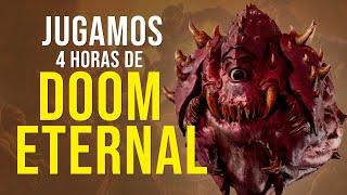 JUGAMOS 4 HORAS de DOOM ETERNAL