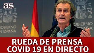 EN DIRECTO | Rueda de prensa CORONAVIRUS |  Diario AS