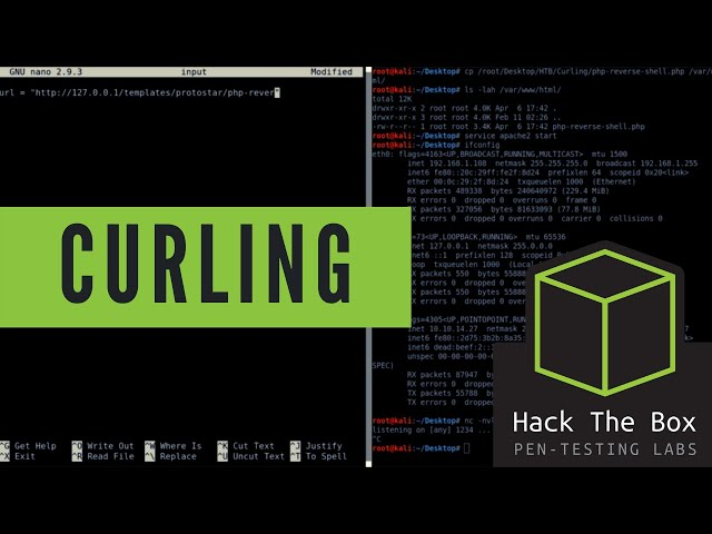 HackTheBox - Curling - Walkthrough