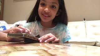 "Ariya, inspired by Collins Key, tries 4 ""Call Santa"" apps on iphoneX"