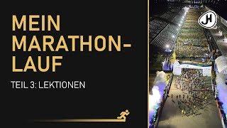 Mein Marathonlauf - gewonnene Erkenntnisse (Teil 3/3)