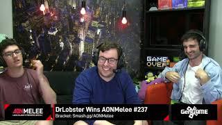 DrLobster (Shiek) vs SnooSnoo (Marth) | AONMelee #237 Grand Finals