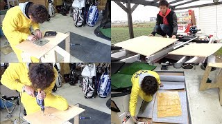 【DIY】船の床を板で作る!?#3