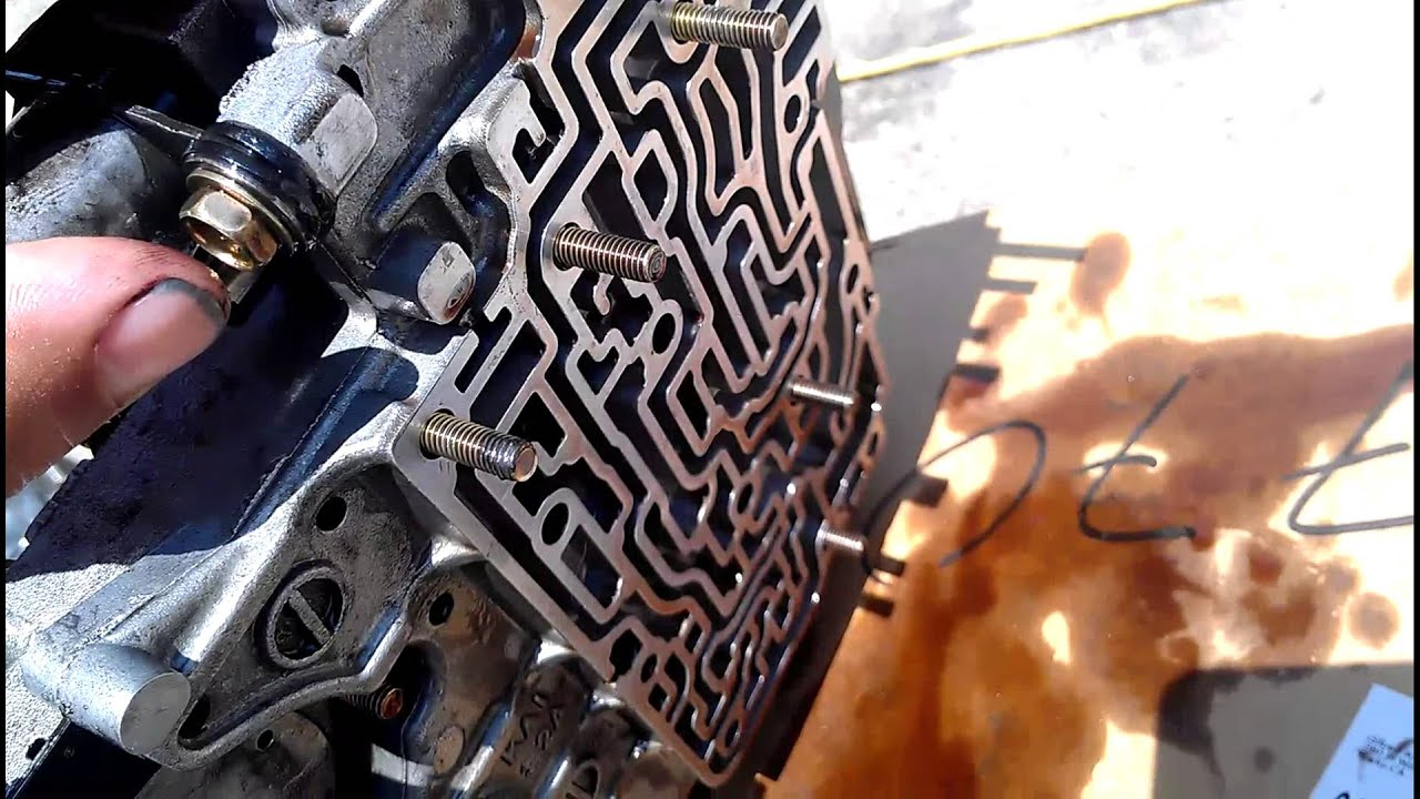 small resolution of transmission valve body assembly of 06 nissan sentra what it looks like inside youtube