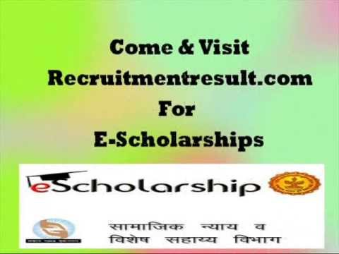 Escholarship Application Form Download PDF and How to Apply Online