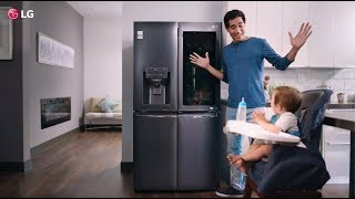 LG InstaView Fridge - Zach King Magic