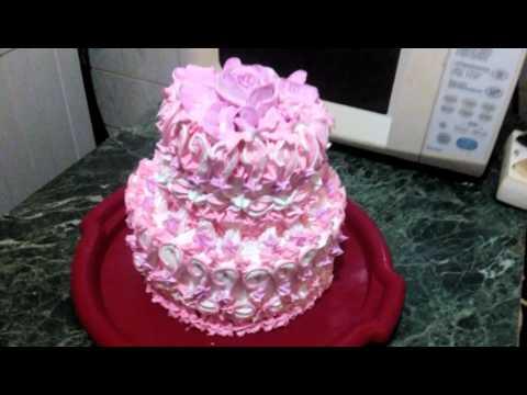 Торт с белковым заварным