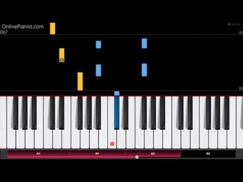 Flea Waltz - Flohwalzer - Easy Piano Tutorial