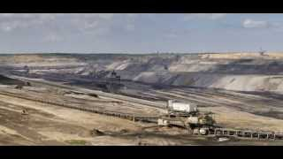 WORLD'S BIGGEST MACHINES - Impressive Timelapse - Open Pit Mining at Garzweiler - Zeitraffer