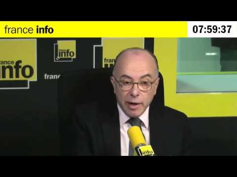 """Bernard Cazeneuve : """"128 perquisitions cette nuit"""""""