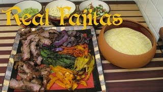 Real Fajitas Recipe Cook Along Version