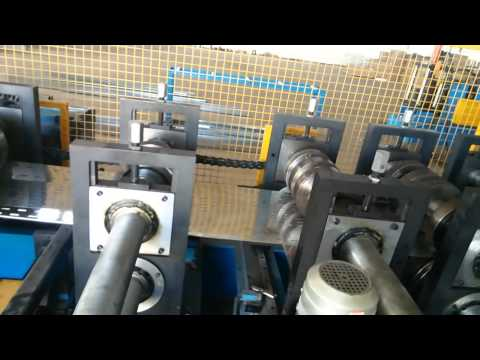Fully automatic cable tray production line with high speed online punching