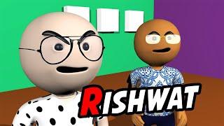 3D Anim Comedy - RISHWAT (CORRUPTION)