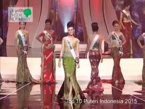 Top 10 Puteri Indonesia 2015
