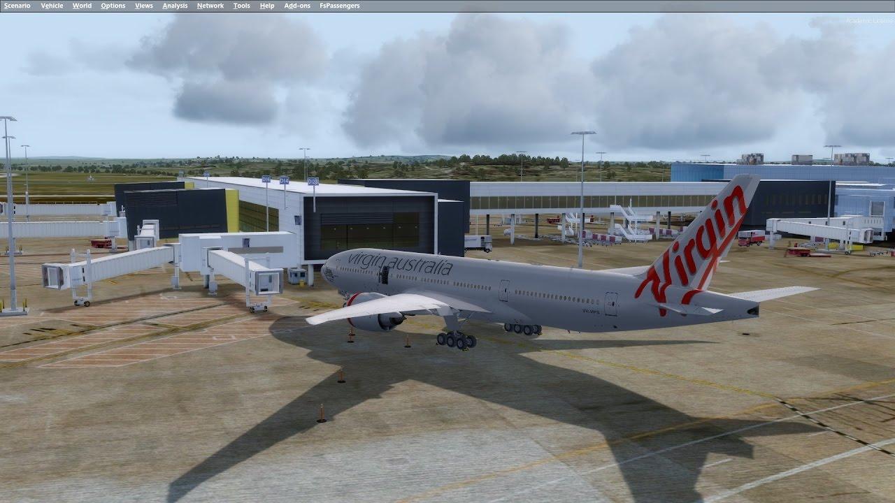 [P3D v3 4] PMDG 777-200   YMML → NZAA   VATSIM