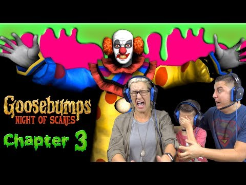 THE CLOWN IS HERE!!! Goosebumps: Night Of Scares - Chapter 3