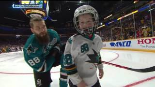 Gotta See It: Lil Burns cellys way into hearts in breakaway challenge