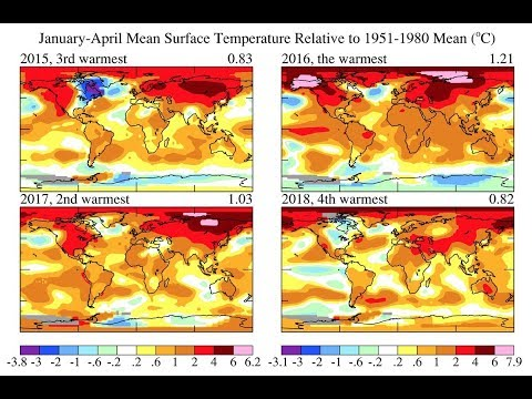 Climate & Extreme Weather News #119 (16th-19th May 2018)