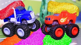 Мультики для детей с игрушками Вспыш и чудо машинки. Цветная площадка – Видео для мальчиков