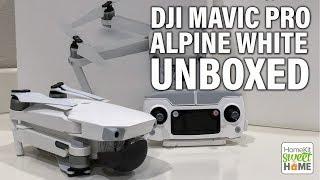 DJI MAVIC PRO ALPINE WHITE - UNBOXING