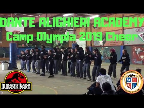 Dante Alighieri Camp Olympia 2019 Cheer (Side Angle)