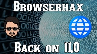 [11.0 Primary] BROWSERHAX IS BACK | How to Reach the 3DS Homebrew Channel