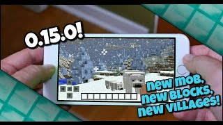 Minecraft PE 0.15.0 News! - 1.10 MCPC UPDATE COMING TO PE? - Mobs, Blocks, New Villages and MORE!!