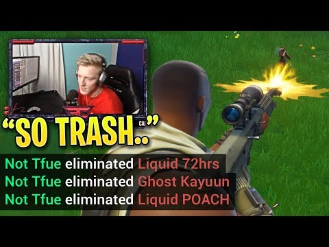 Everyone is AMAZED When Tfue DESTROYS Pro SQUADS by Himself!