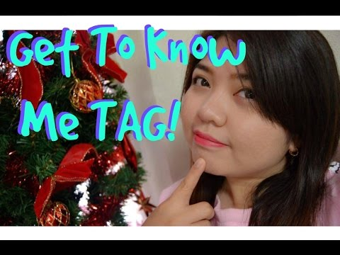 Get to Know me tag YOUTUBE video