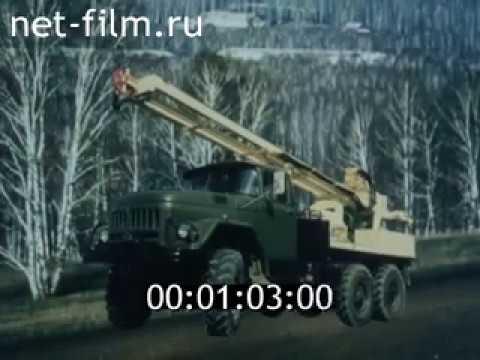 Советские буровые установки 1989 | Soviet Drilling Rigs 1989